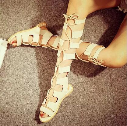 Sandale Gladiator Lady bej